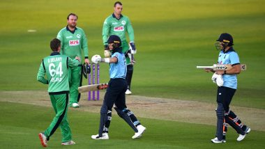 England vs Ireland 3rd ODI 2020 Highlights: Visitors Chase Down 329 to Register Win, Hosts Take Series 2-1
