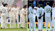 PAK 85/2 in 33.5 Overs | Pakistan vs England Live Score of 2nd Test Day 1: Rains Slow Down, As Dark Clouds Hound Ageas Bowl