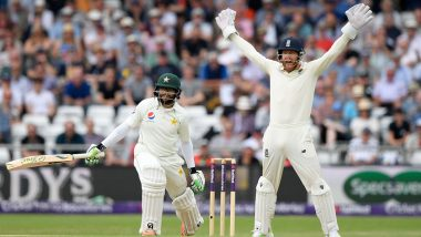 England vs Pakistan Head-to-Head Record: Ahead of the Series Opener, Here Are Results of Last Five ENG vs PAK Test Matches