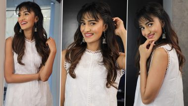 Erica Fernandes Goes Desi Glam Chic in White With Cutesy Bangs in Tow!