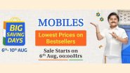 Flipkart Big Saving Days Sale 2020 Starts Midnight: Big Discounts on Motorola Razr, iPhone SE, iPhone XR, iQOO 3 & More