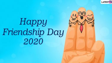 Happy Friendship Day 2020 HD Images And Wallpapers For Free Download Online: WhatsApp Stickers, GIF Greetings, Facebook Wishes, Instagram Stories, Messages And SMS to Wish Your Best Friends