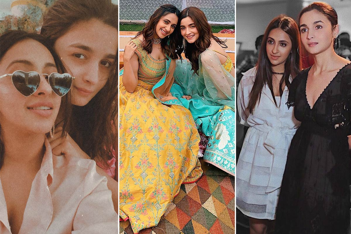 Friendship Day 2020 - Alia Bhatt and Akansha Ranjan Kapoor