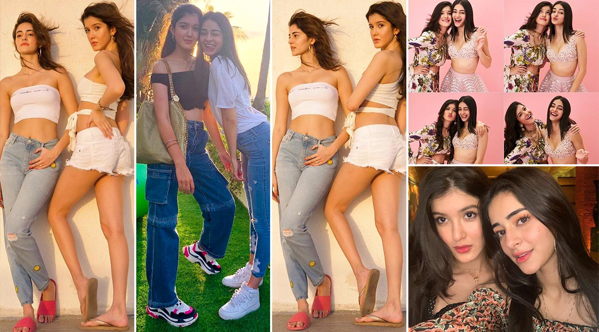 Friendship Day 2020 - Shanaya Kapoor and Ananya Panday