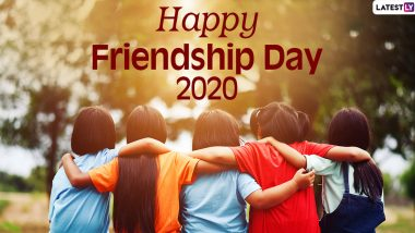 Friendship Day Images & HD Wallpapers for Free Download Online: Wish Happy Friendship Day 2020 With WhatsApp Stickers and GIF Greetings