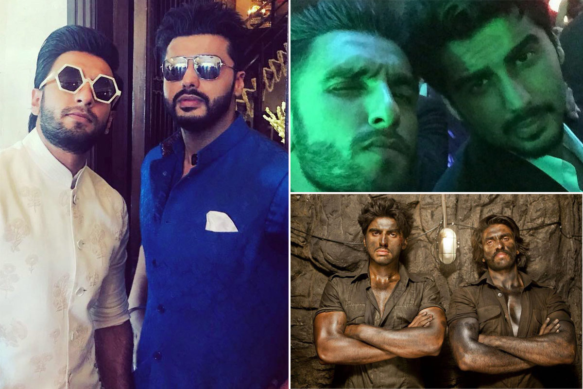 Friendship Day 2020 - Ranveer Singh and Arjun Kapoor