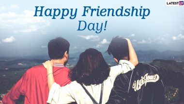 Friendship Day 2020 Images & HD Wallpapers for Free Download Online: Wish Happy Friendship Day With WhatsApp Stickers and GIF Greetings