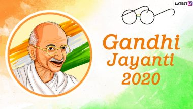 Gandhi Jayanti 2020 Date And Significance: Know About the Day That Celebrates Birth Anniversary of Mahatma Gandhi, Father of the Nation