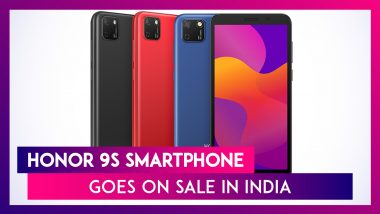 Honor 9S Featuring a 3,020mAh Battery Goes on Sale in India; Check Price, Offers Variants, Features & Specifications