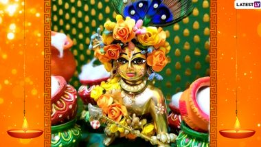 Happy Janmashtami 2020 Wishes & Good Morning HD Images to Celebrate Birth of Lord Krishna