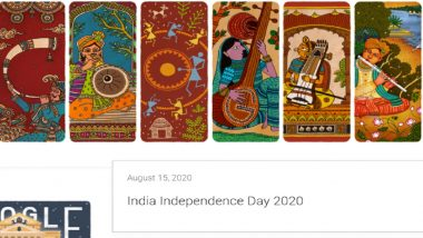 Google Greets Indians on 74th Independence Day With Doodle Highlighting Musical Heritage of India