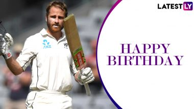 Kane Williamson Birthday Special: 176 vs South Africa and Other Marvellous Knocks by the New Zealand Captain in Test Cricket