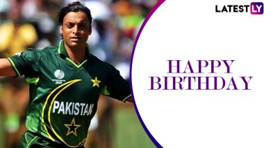 Shoaib Akhtar Birthday Special: 6/11 vs New Zealand and Other Stupendous Performances by the Rawalpindi Express