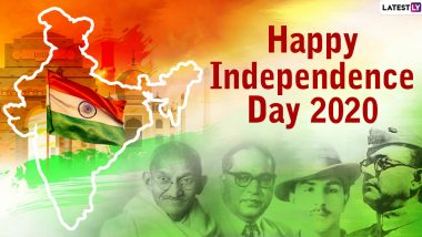 Independence Day Images & HD Wallpapers for Free Download Online: Wish Happy Independence Day 2020 With WhatsApp Stickers and GIF Greetings