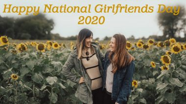Happy National Girlfriends' Day 2020 Wishes and HD Images: WhatsApp Stickers, Girlfriends Day Messages, Funny GIFs and Facebook Greetings to Celebrate Your Gal Pals!
