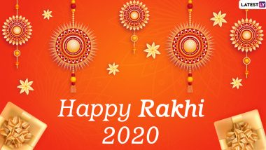Raksha Bandhan 2020 Messages and HD Images: WhatsApp Stickers, GIF Greetings, Facebook Photos, Instagram Quotes, SMS to Wish Your Siblings Happy Rakhi