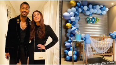 Hardik Pandya Thanks Sister-in-Law Pankhuri Sharma for Arranging Grand Welcome for His Baby Boy (See Pic)