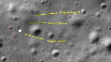 Chandrayaan 2: Rover Pragyan Intact, May Have Moved Few Meters, Chennai Techie Tells ISRO Showing Pictures Sent by NASA