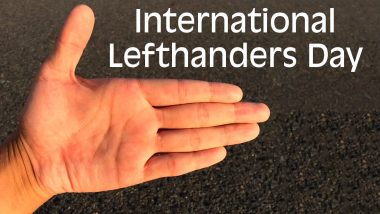 International Lefthanders Day 2020 Date and History: Know Significance of This Day That Honours Lefties