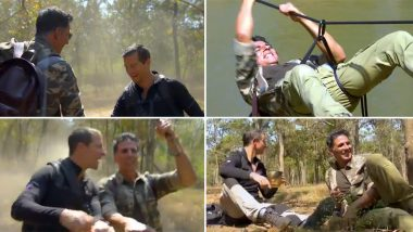 Into the Wild With Bear Grylls: Akshay Kumar Shares a Sneak-Peek Into the Maddening Adventure, Episode To Release on September 11 on Discovery+ (Watch Video)