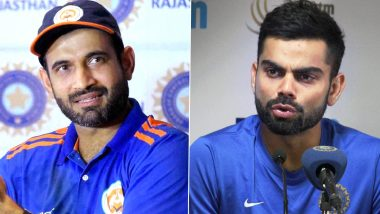Irfan Pathan Shuts Troll Who Tried to Mock India Captain Virat Kohli With a Brillant Reply! (See Post)