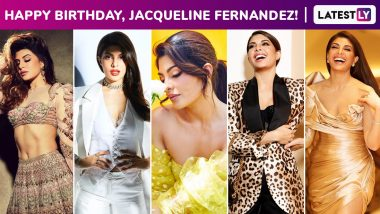 Jacqueline Fernandez Birthday Special: A Perpetual Stunner, This Vivacious Girl With a Versatile Fashion Arsenal and a Devastating Smile to Boot!