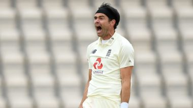 James Anderson Becomes First Fast Bowler to Take 600 Test Wickets, Achieves Feat During England vs Pakistan 3rd Test