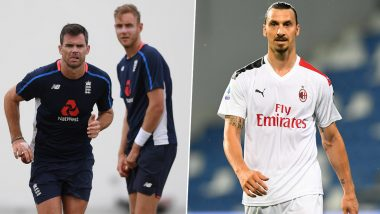 Stuart Broad Reacts to Zlatan Ibrahimovic's 'I Can Play till 50' Statement, Says 'Sounds Alike James Anderson'