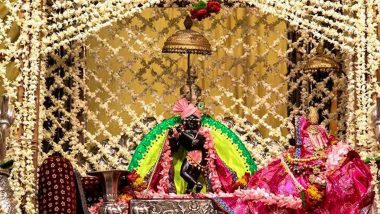 Janmashtami 2020 Live Streaming Online From Dwarka and Mathura With TV Telecast Time: Here's How You Can Watch The Birth Celebrations of Laddu Gopal From Krishna Janmasthan Temple Complex on DD Channel