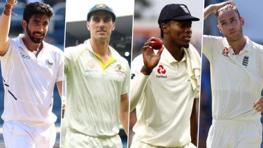 Most Wickets in ICC World Test Championship 2019–21: Stuart Broad Leads the Bowler's List, Mohammed Shami Highest-Ranked Indian; Take a Look at the Top-10 Wicket-Takers in WTC