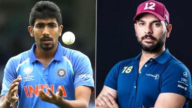 Yuvraj Singh Challenges Jasprit Bumrah to Take 400 Wickets in Test Cricket, Gives Mumbai Indians Pacer New Target Ahead of IPL 2020
