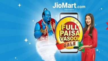 JioMart Independence Day Sale 2020: Reliance's Online Retail Outlet Extends Discount Offers Till August 19 After Record Sales Today