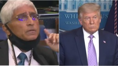 Indian-Origin Journalist Shirish Date Asks US President Donald Trump 'Do You Regret Lying' at Press Conference, Video Goes Viral