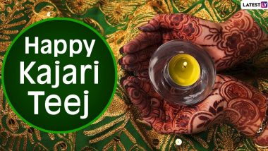 Happy Kajari Teej 2020 Wishes and HD Images: WhatsApp Messages, Facebook Greetings, Photos With Quotes and SMS to Send Greetings on Satudi Teej