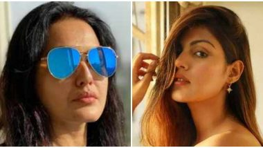 Sushant Singh Rajput Death Case: Kamya Punjabi Slams Rhea Chakraborty For Leaking Personal Chats About Fight With Sister (View Tweet)