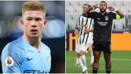 Manchester City vs Lyon, UEFA Champions League 2019–20: Kevin De Bruyne, Memphis Depay and Other Players to Watch Out in MCI vs LYN UCL Quarter-Final Match
