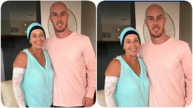 Chris Lynn's Mother Beats Cancer! Mumbai Indians Share Adorable Picture of the Cricketer With his Mom