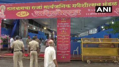 Ganesh Chaturthi 2020: Mumbai's Lalbaugcha Raja Ganpati Mandal Organises Blood & Plasma Donation Camp to Celebrate Arogya Utsav