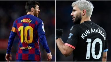 Sergio Aguero Will Not Take Lionel Messi's Jersey Number at Barcelona