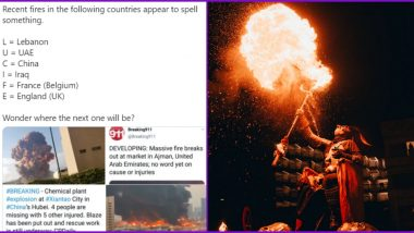 'LUCIFER' Behind Deadly Explosions Across Nations? Viral Conspiracy Theory Points to First Letter of Each Nation Spelling Out the Devil's Name After Recent Gas Blast in Russia (Check Tweets)