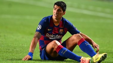 Luis Suarez Leaves Barcelona Training Facilities in Tears Ahead of Atletico Madrid Transfer (Watch Video)
