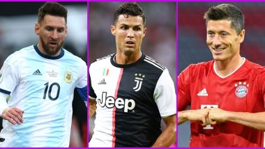 Top Goal Scorers from 2020/21 Season of Bundesliga, Serie A, La Liga, Ligue 1 and EPL: From Ronaldo to Messi, Here's a List of Golden Boot Award Winners Across Europe's Top Five Leagues