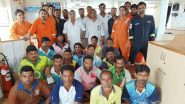 Mumbai Rains: Maritime Rescue Coordination Centre Rescues 16 Fishermen Off Arnala Coast