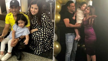 MS Dhoni Family Pics With Wife Sakshi and Daughter Ziva: As Former India Captain Retires From International Cricket, Let's Look at Some of His Adorable Pictures
