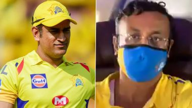 MS Dhoni Shows Another Glimpse of His Selfless Nature, Gives Away Business Class Seat to CSK Team Director During Flight to UAE for IPL 2020 (Watch Video)