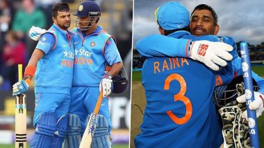 MS Dhoni, Suresh Raina Announce Retirement From International Cricket: 144 vs England and Other Match-Winning Partnerships by the Legendary Duo