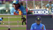 Decoding MS Dhoni's Retirement Announcement Post: Independence Day, 'Main Pal Do Pal Ka Shayar Hoon' Song, Debut and Last Match Run Out (Watch Video)