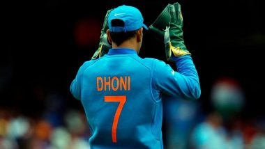 MS Dhoni Retires: From Jersey No. 7 to Birth Date, Some Astonishing Facts About Former Indian Captain's Connection With Number Seven