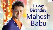 Mahesh Babu Images & HD Wallpapers For Free Download: Happy Birthday Greetings, HD Photos of Tollywood Actor and Positive Messages to Share Online