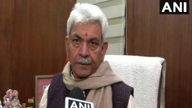 Corona Curfew Extended in Jammu and Kashmir To Keep 'Everyone Safe': LG Manoj Sinha